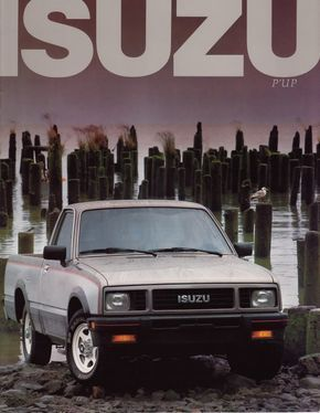 1987 Isuzu P'up