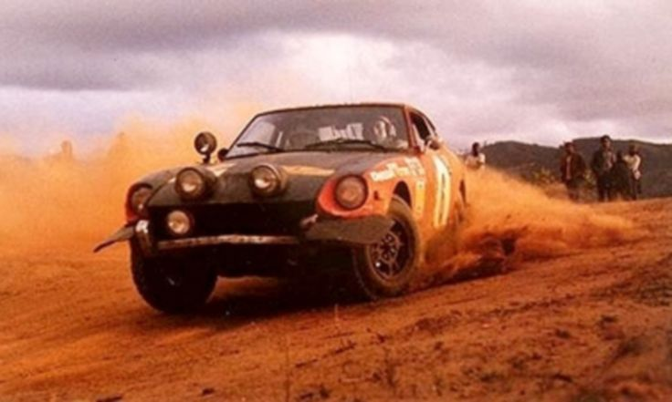 1973 DATSUN 240Z - at the 1973 East African Safari Rally driven by Rauno Aaltonen & Paul Easter