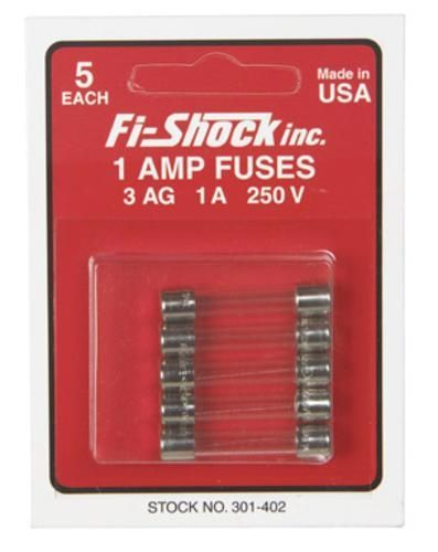 Fi-Shock 301-402 Electric Fence Controllers Fuse, 1 Amp