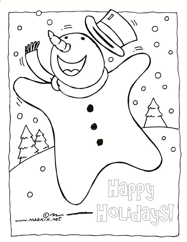 75 best Printable Christmas Coloring and Activity Pages images on