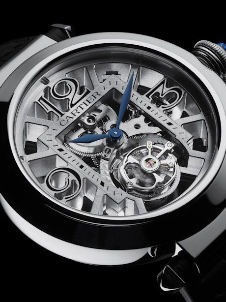 Pasha de Cartier Skeleton Flying Tourbillion.