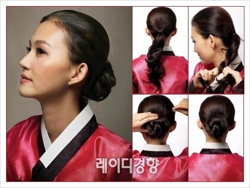 3 Hair Styling For Holiday Hanbok Fashion The Neck And Shoulder