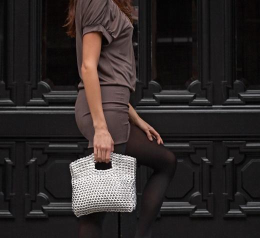 pop tops...chic evening bag