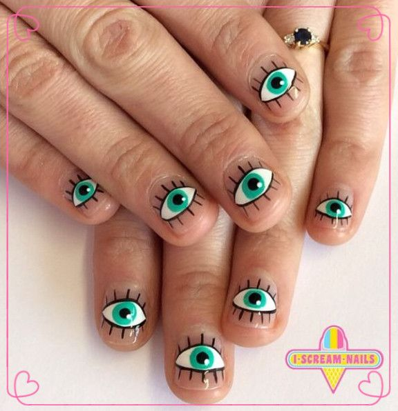 5 Cute Nail Designs for Short Nails - 1008 Best Fashion❀ Images On Pinterest Christmas Nails, Xmas