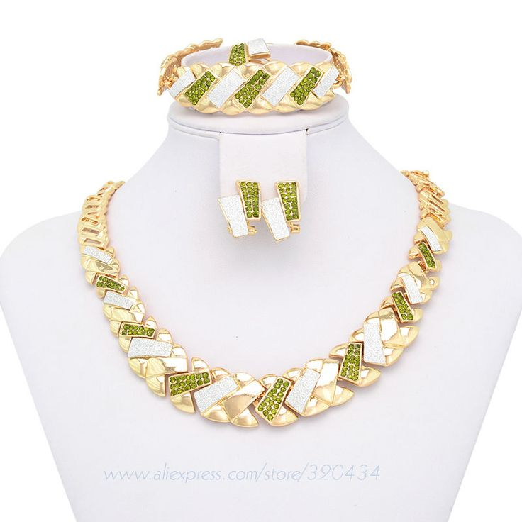 21 best 18K gold jewelry set images on Pinterest