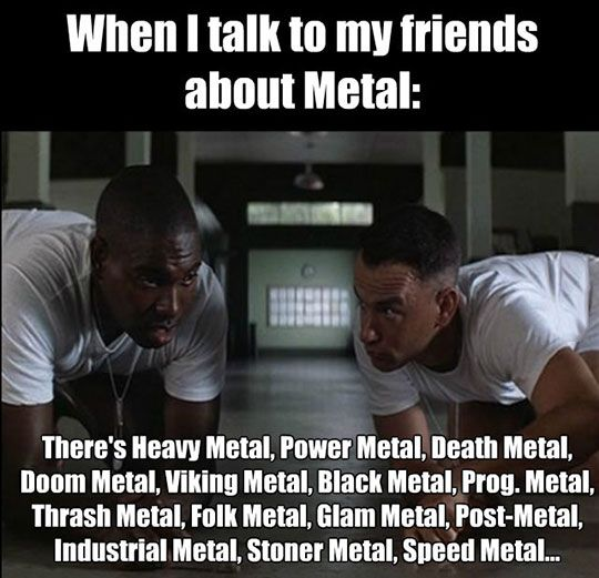 The Many Subgenres Of Metal