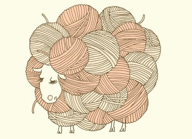 Knitting Sheep Clipart : Best images about knitters knitting on