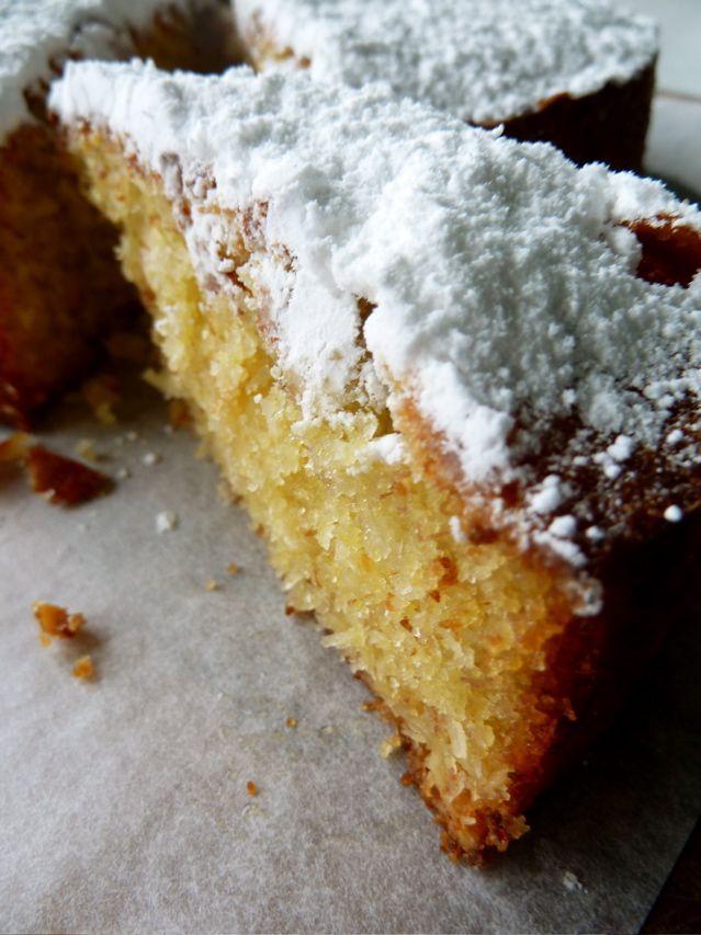 Polenta, Polenta cakes and Coconut on Pinterest