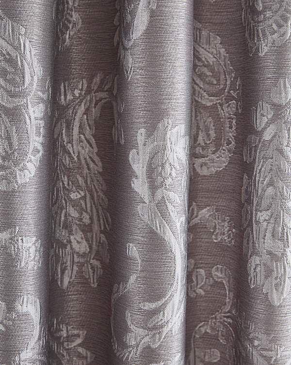 Ashford Paisley Pencil Pleat Curtains
