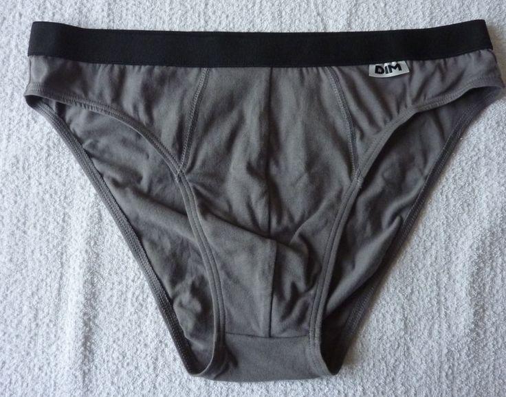 Slip homme culotte gris taille 44 ou 46 neuf DIM ebay brunomimi2008