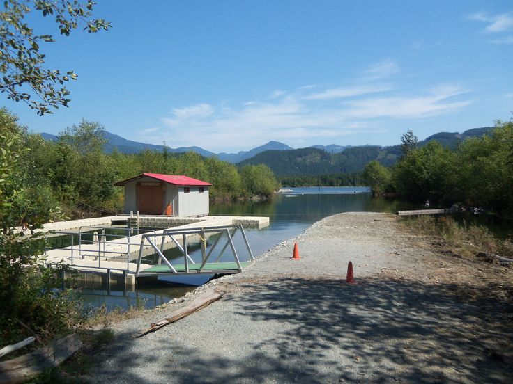 Waterfront at Zajac Ranch (home of Kayaking and Canoeing) on the shores of Stave Lake.   #watersports #waterfront #stavelake #outdooradventure #outdooractivites #summercamp #outdoorwedding #vancouver