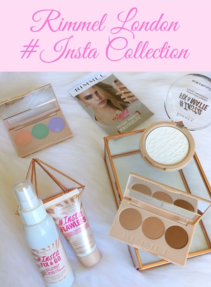 Thanks to Rimmel's new #Insta Collection we can all be picture perfect Insta Selfie ready with no filters required. Click on this pin for more information.