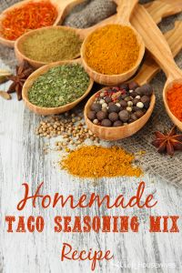 Homemade Taco Seasoning Mix Recipe - Slick Housewives