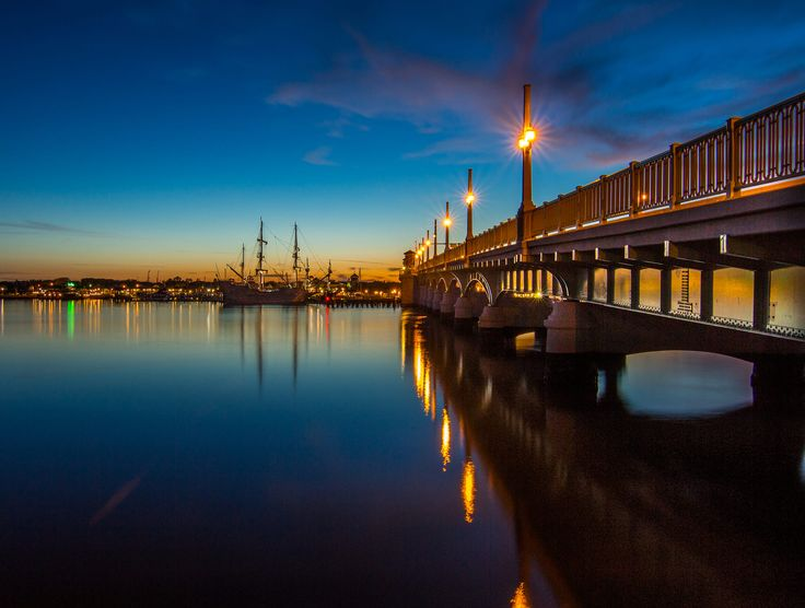 St Augustine Bridge of Lions by Jason Green on 500px