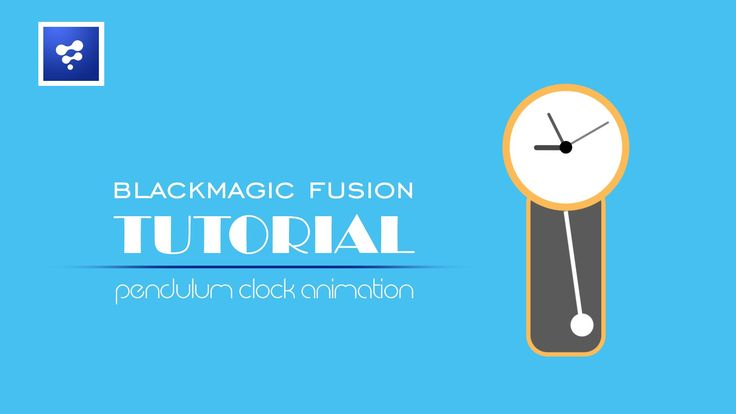 Blackmagic Fusion Tutorial _ Clock Pendulum animation