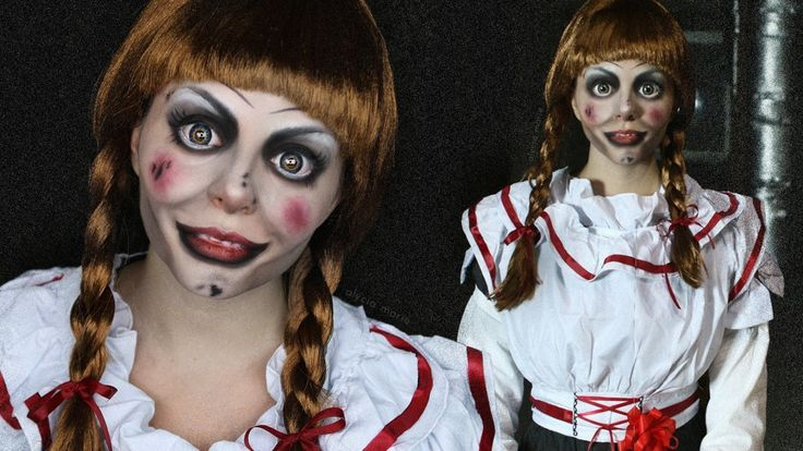 ANNABELLE • The Conjuring • Makeup Tutorial • CREEPY DOLL | #spooktober