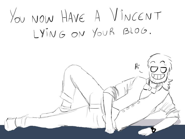 [lays just like Vincent wiggling eyebrows] draw me like one of yar French girls :)