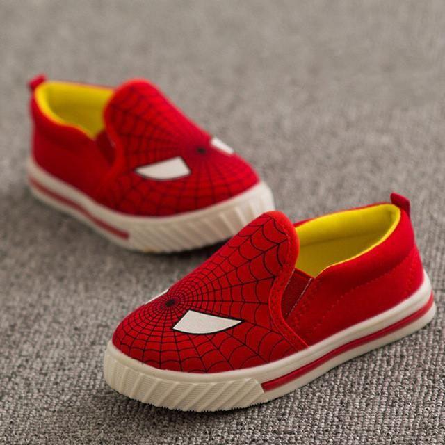 Canvas Kids Rubber Shoes   Furrple