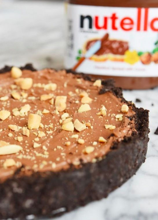 Nutella-Kuchen mit Oreo-Rand | 14 Dinge, die Du unbedingt mit Nutella machen musst, bevor Du stirbst