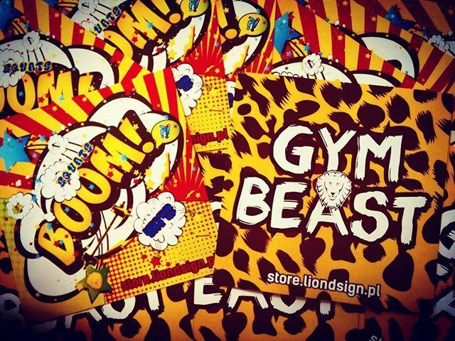 #liondsign #motivate #motywacja #vlepki #gymbeast #gym #beast #workout #silownia #boom #comic #stickers #nevergiveup #squats #beliongirl