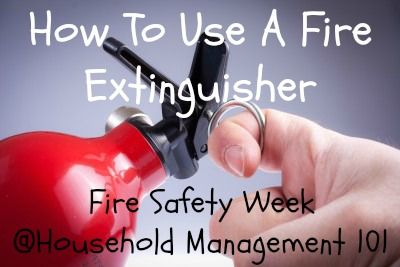 How To Use A Fire Extinguisher Video And Written
