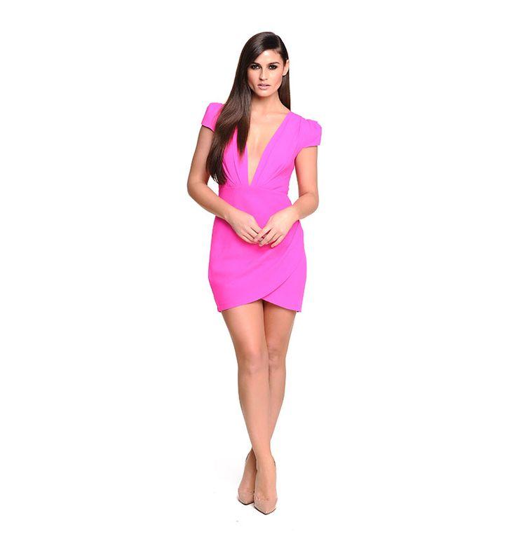 Pink Farrah Dress