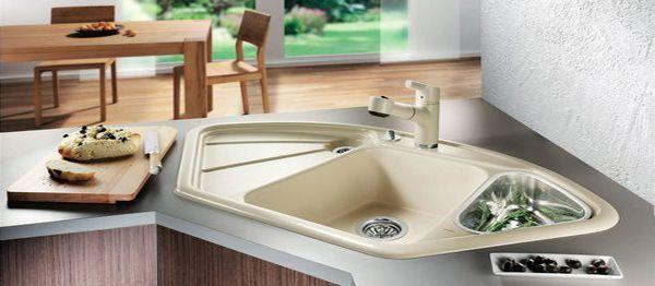 15 Cool Corner Kitchen Sink Designs Kitchen Sink Ideas Kitchen