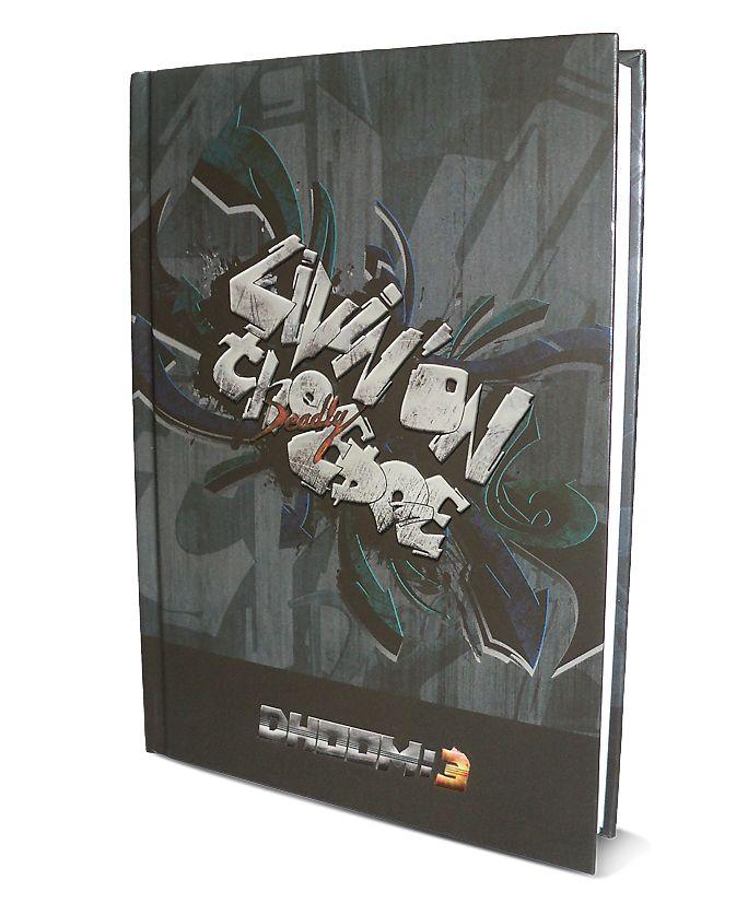 Dhoom 3 - Premium Notebook, Design C
