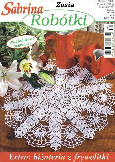 Sabrina Robótki 1 2008 - sevar mirova - Picasa Web Albums #crochetmagazine