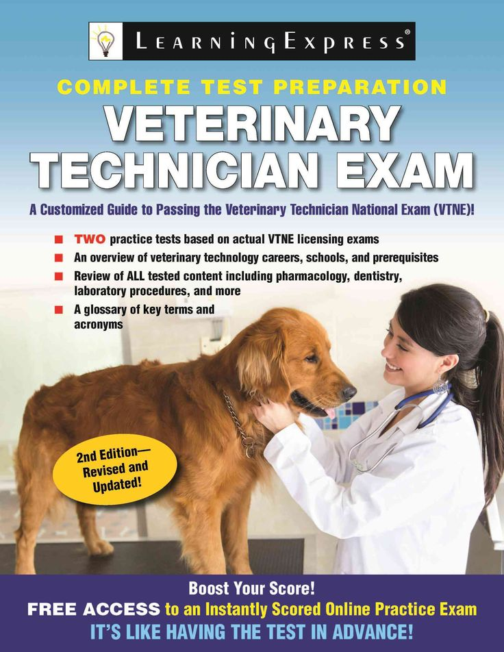 This updated edition of LearningExpresss comprehensive preparation book covers how to get started as a veterinary technician and serves as a review for the Veterinary Technician National Exam (VTNE).