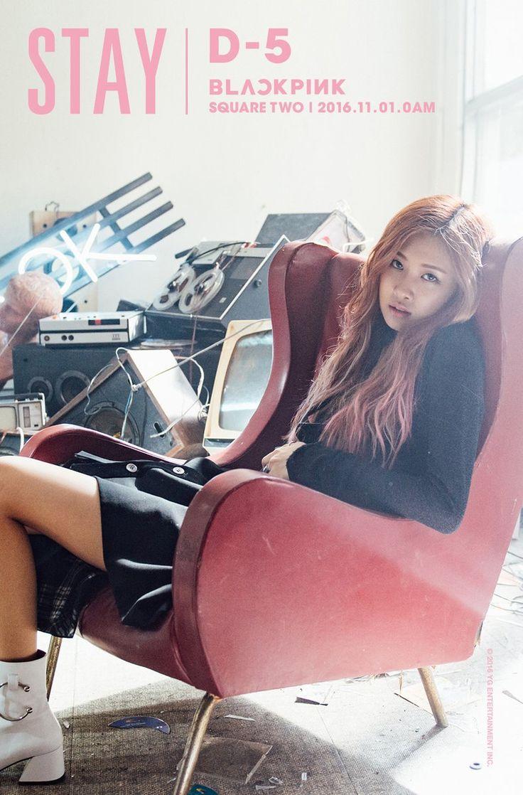 BLΛƆKPIИK • Stay Teaser Photos of Rosé #Blackpink #BP #YG #2016