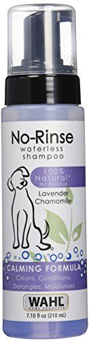 Wahl 100% Natural Pet No-Rinse Waterless Shampoo Lavender #820014 * READ MORE @ http://www.cjbless.com/store/wahl-100-natural-pet-no-rinse-waterless-shampoo-lavender-820014/?a=3969