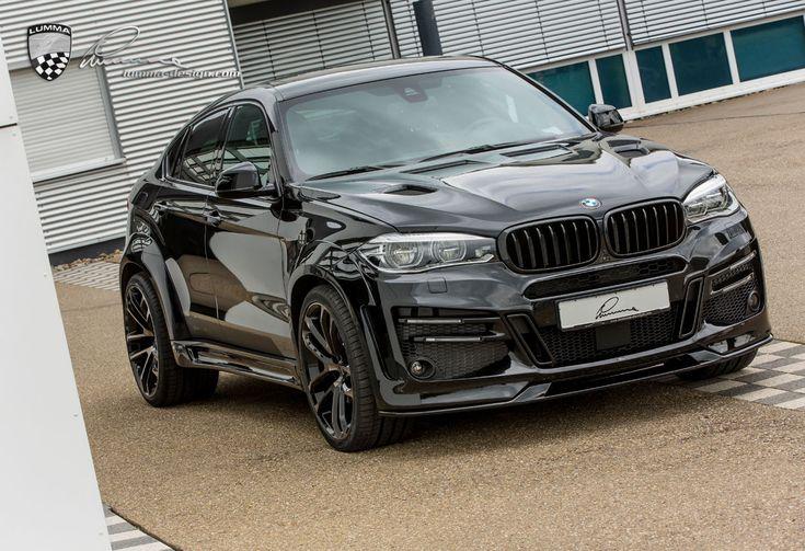 Lumma Design introduces F16 BMW X6 based CLR X 6 R with 555 PS.