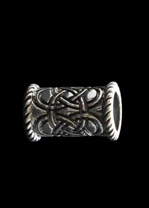 Stor sølv perle 1,9 cm x 1,2 cm. Indvendig hul 8 mm 270 kr