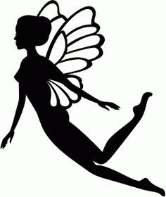 fairy cut out template - best 25 fairy silhouette ideas on pinterest fairy jars
