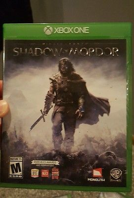 nice Middle Earth Shadow of Mordor (Microsoft Xbox One 2014) - For Sale View more at http://shipperscentral.com/wp/product/middle-earth-shadow-of-mordor-microsoft-xbox-one-2014-for-sale-3/