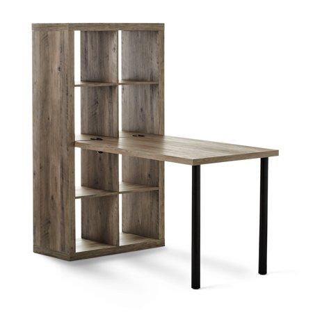 better homes gardens adjustable height desk add on cube organizer rh pinterest com