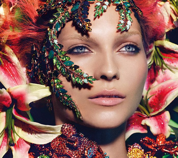 If It's Hip, It's Here: The Spectacularly Sparkly 2013 German Vogue Swarovski Horoscope Calendar Combines Gorgeous Photography, Fashion and Jewelry.