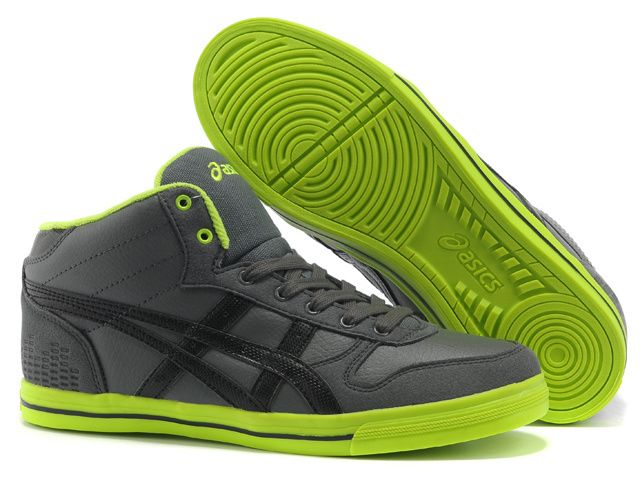 asics onitsuka tiger aaron mt grey black green
