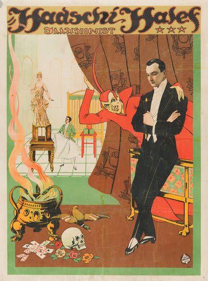 Hadschi Halef, Variete Zirkus Kabarett, Berlin, um 1919/20