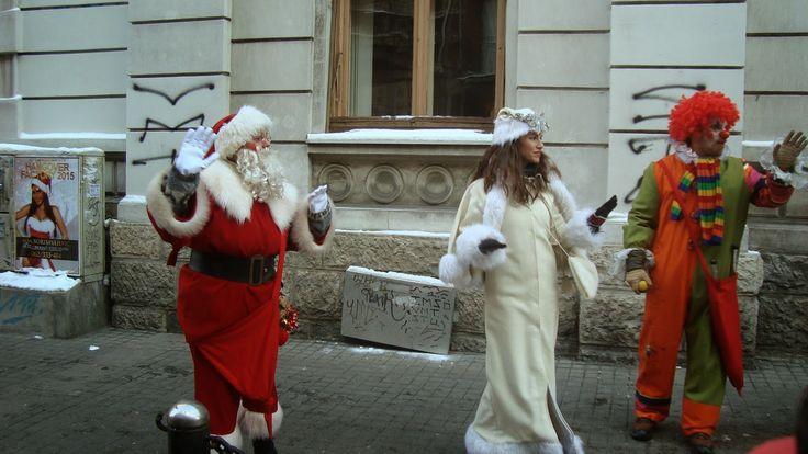 Visitez Belgrade (Виситез Белград) 1er Janvier traditionnel dans la Rue du Coeur Ouvert, pour les petits et les grands
