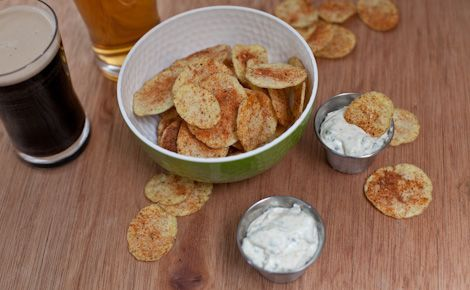 Epicure's Silicone Chipster 4 minute Backyard BBQ Chips
