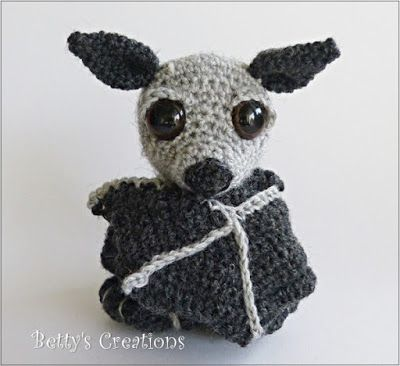 Bettys-creations: Gehäkelte Fledermaus