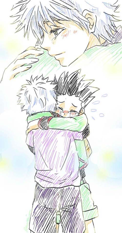 gon and killua meet the millers