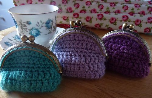 Crochet Pattern Name: Vintage Coin Purse Pattern by: R. Duggan