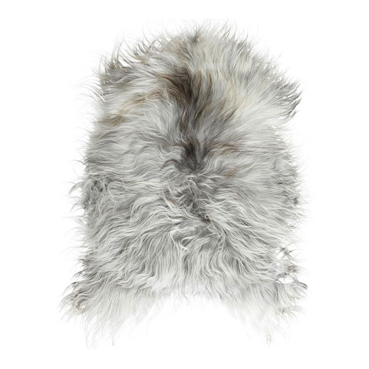 An incredibly supple, long haired Icelandic sheepskin - perfect for the bedroom. The hides are processed using eco-friendly methods by Black Sheep (White Light).