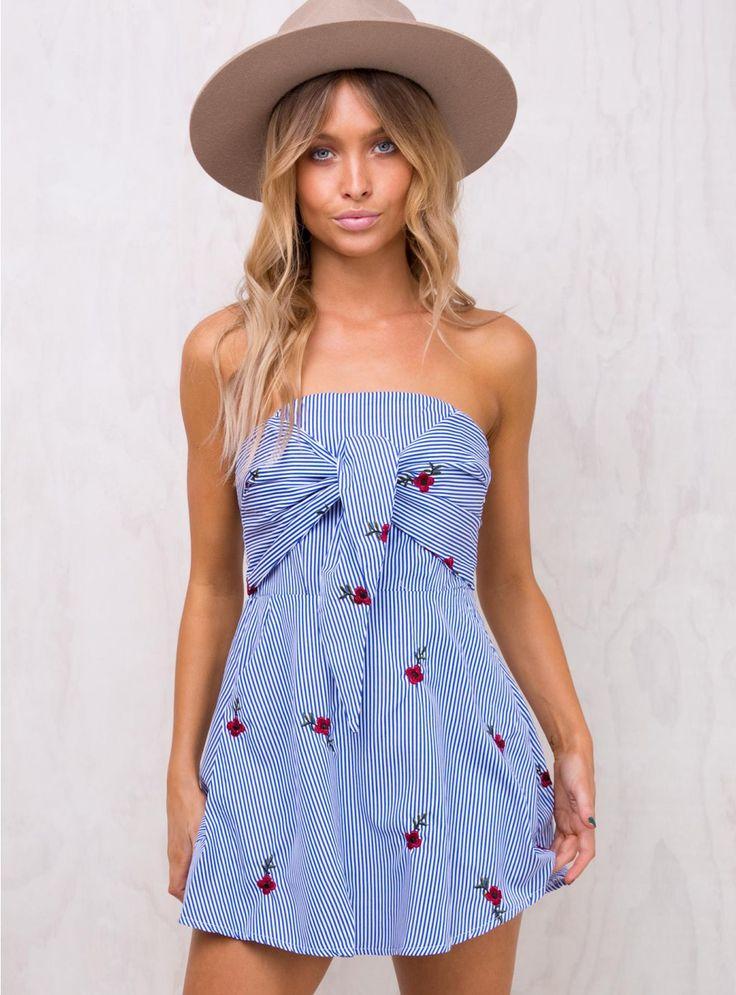 Mountain Poppy Mini Dress