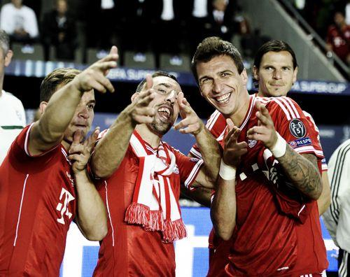 Shaqiri, Ribery and Mandzukic #fcbayern