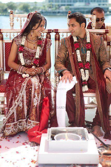 Suhaag Garden, wedding garlands, Indian wedding decorators, Florida wedding decorators, flower garlands,  married couple