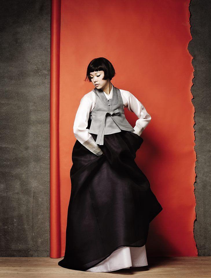 Modern minimalist hanbok